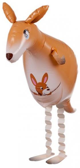 Folienballon Känguru Airwalker